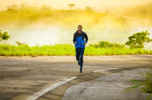 Running is a great tool to reduce stress.